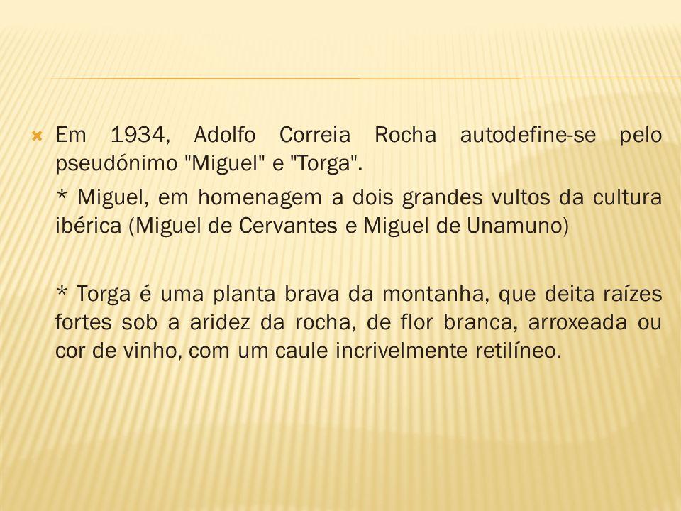 Em 1934, Adolfo Correia Rocha autodefine-se pelo pseudónimo