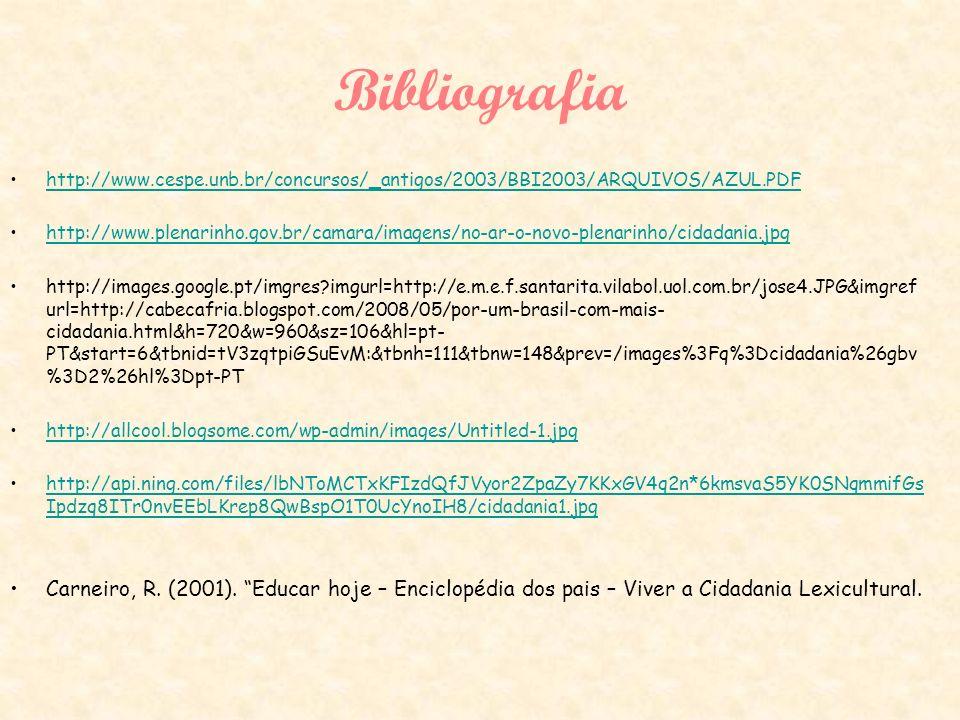 Bibliografia http://www.cespe.unb.br/concursos/_antigos/2003/BBI2003/ARQUIVOS/AZUL.PDF http://www.plenarinho.gov.br/camara/imagens/no-ar-o-novo-plenar