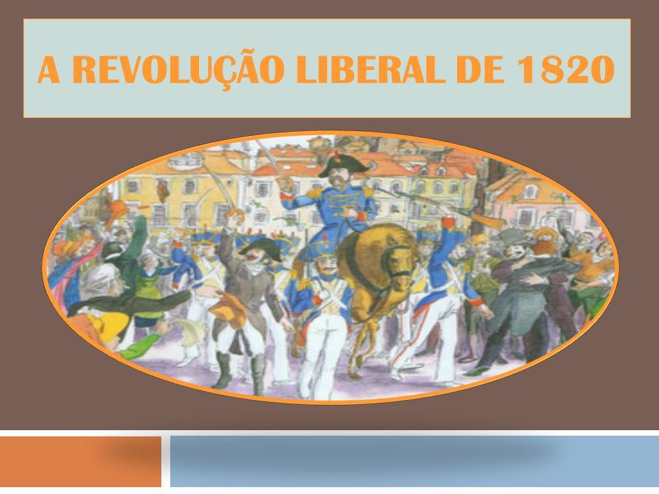 Um País em crise Em 1807 as tropas de Napoleão invadiram pela primeira vez Portugal.