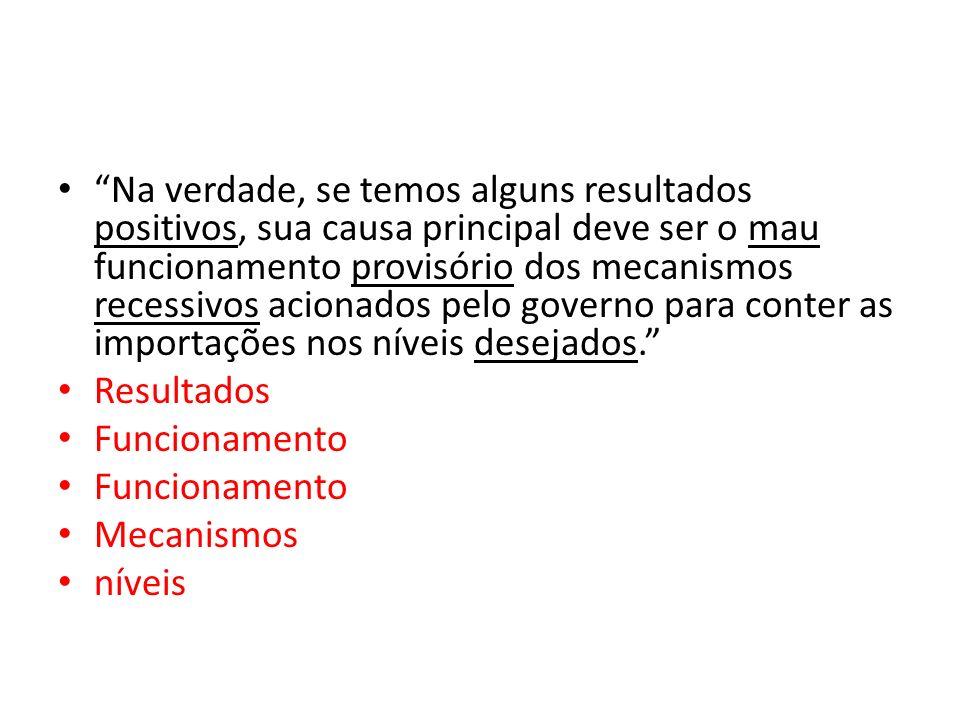 Nestes trechos retirados da Folha de São Paulo do dia 20/03/84, indique a que termos se refere cada forma adjetiva grifada: Um projeto inacabado que s
