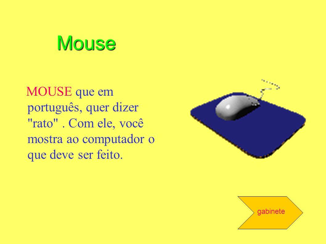 MOUSE que em português, quer dizer
