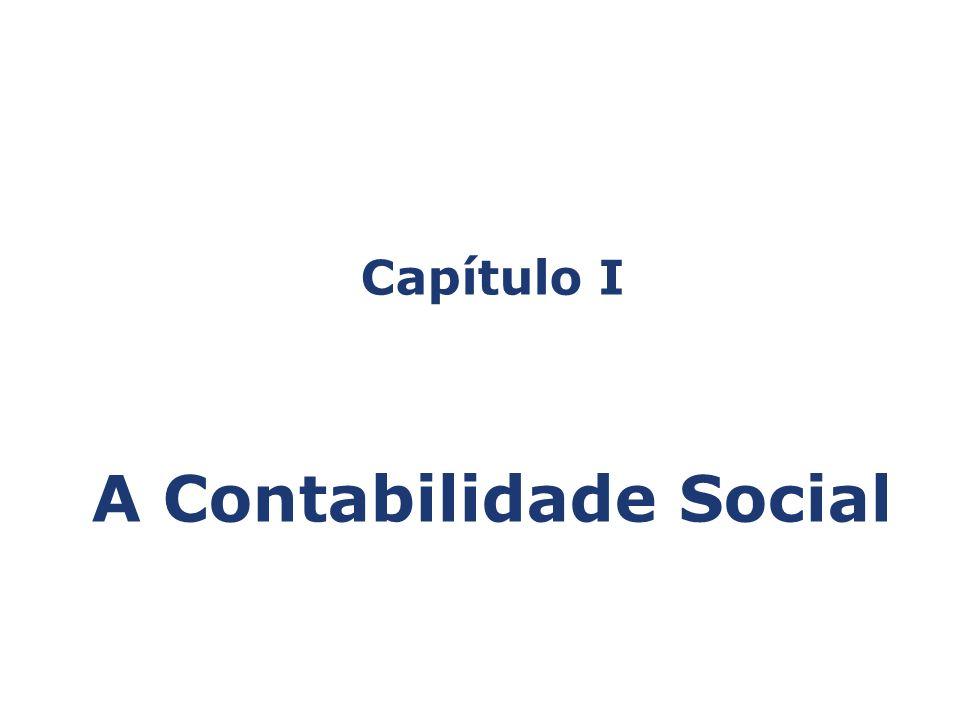 Capítulo I A Contabilidade Social