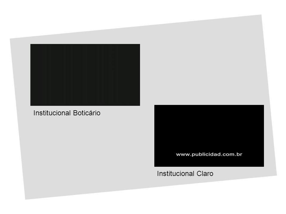 Institucional Boticário Institucional Claro