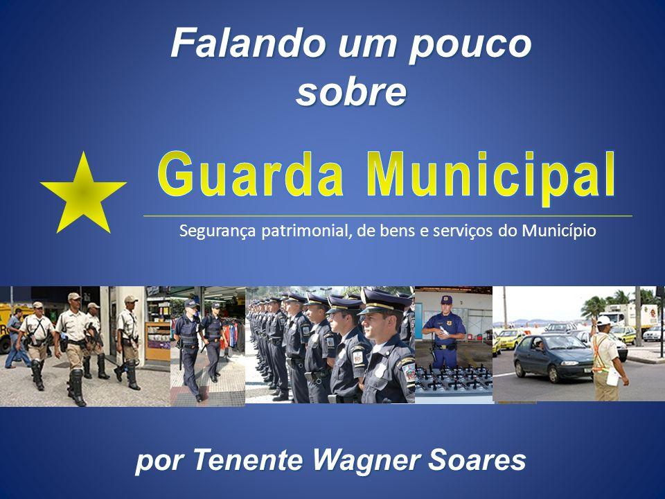 por Tenente Wagner Soares Segurança patrimonial, de bens e serviços do Município Falando um pouco sobre