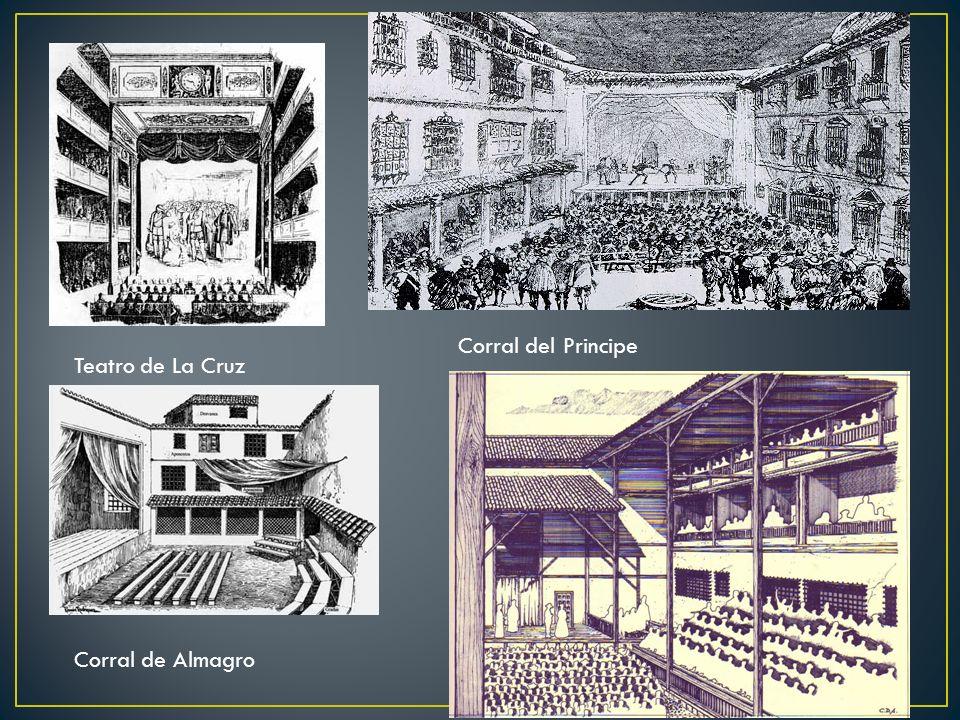Teatro de La Cruz Corral del Principe Corral de Almagro