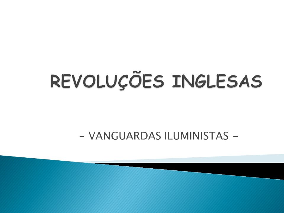 - VANGUARDAS ILUMINISTAS -
