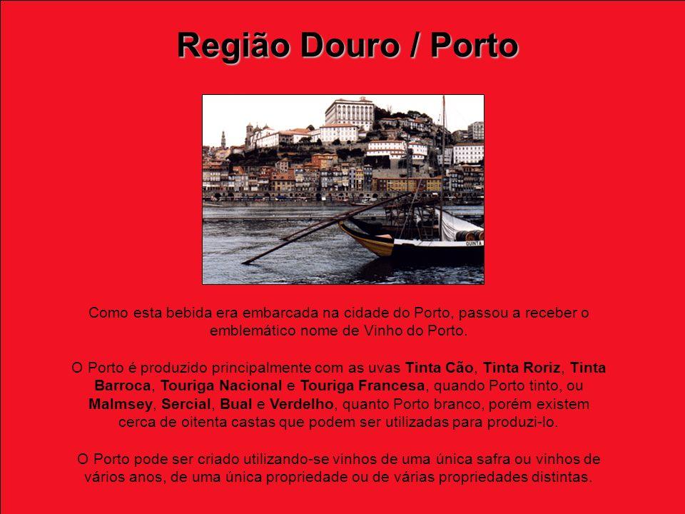 Como esta bebida era embarcada na cidade do Porto, passou a receber o emblemático nome de Vinho do Porto.