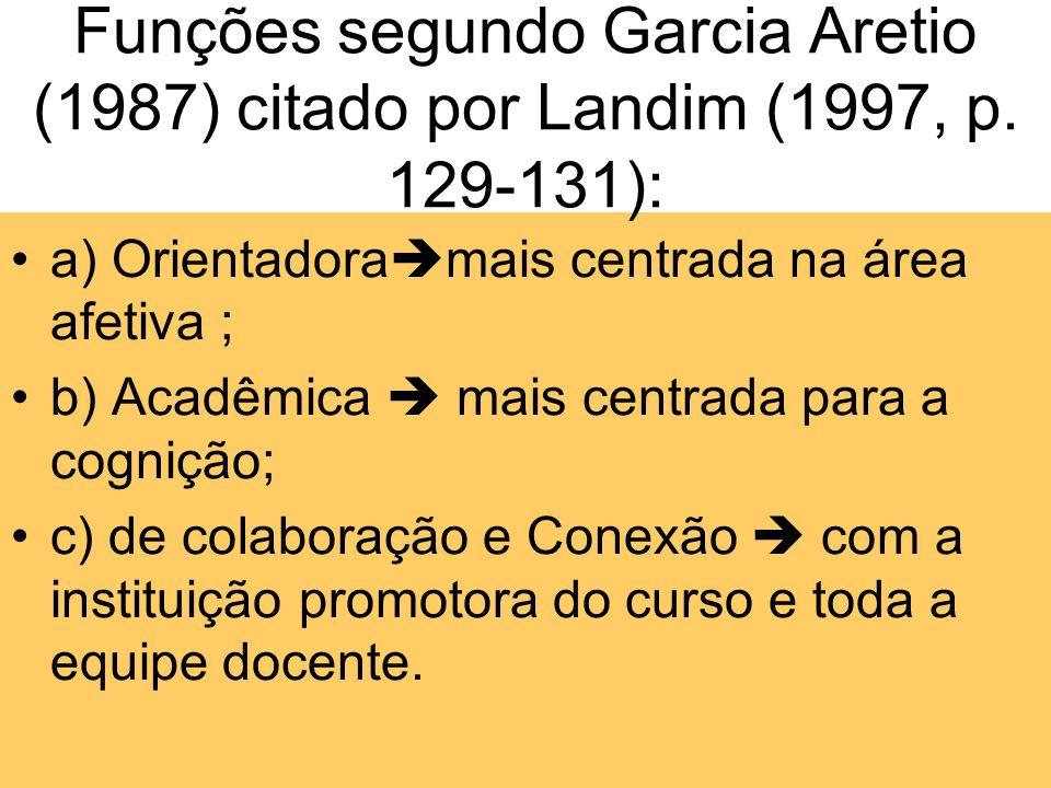 Quatro aspectos fundamentais do tutor: Atitudes - promoção da educação de outros - defesa da causa da justiça social - proteção do meio ambiente - def