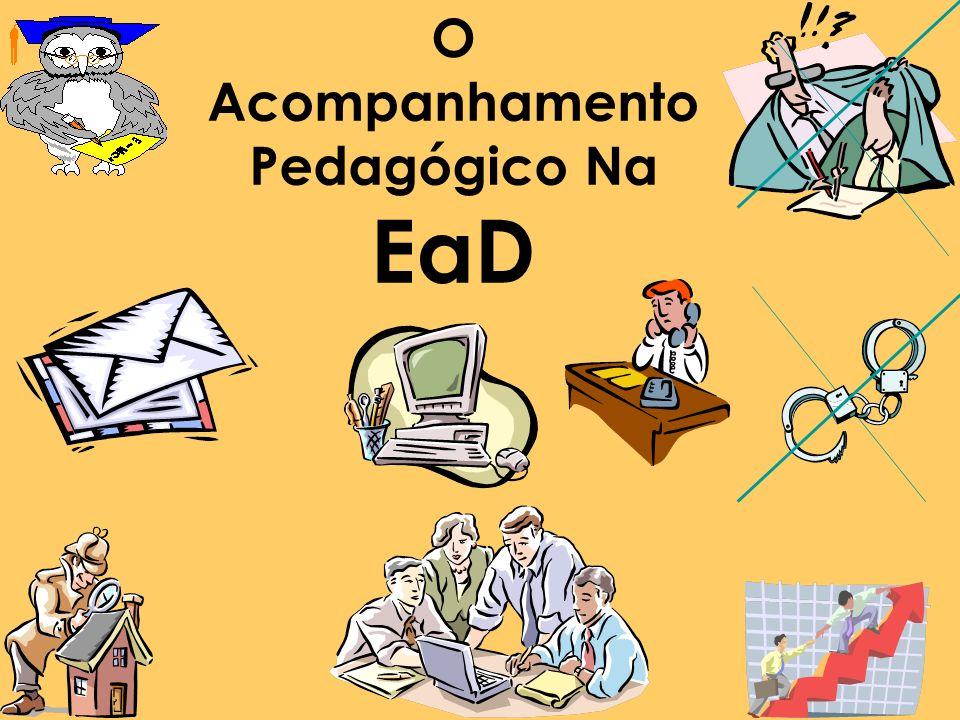 O Acompanhamento Pedagógico (Andragógico) em EaD