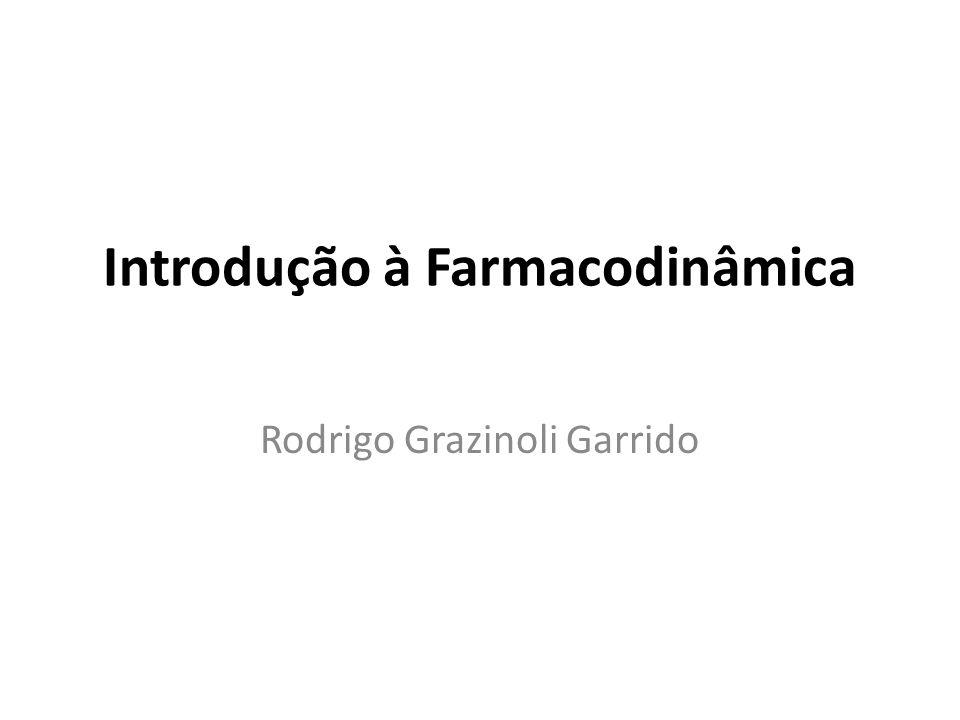 Introdução à Farmacodinâmica Rodrigo Grazinoli Garrido