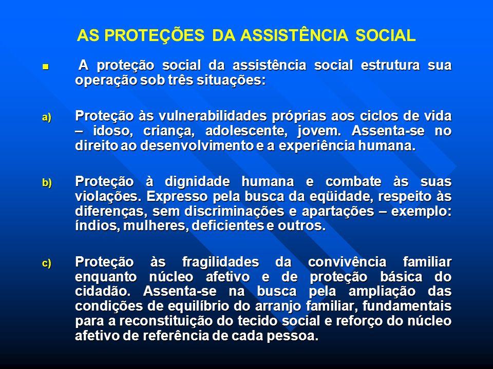 Na PROTEÇÃO SOCIAL BÁSICA está prevista a instalação do CRAS-Centro de Referência da Assistência Social: Na PROTEÇÃO SOCIAL BÁSICA está prevista a ins