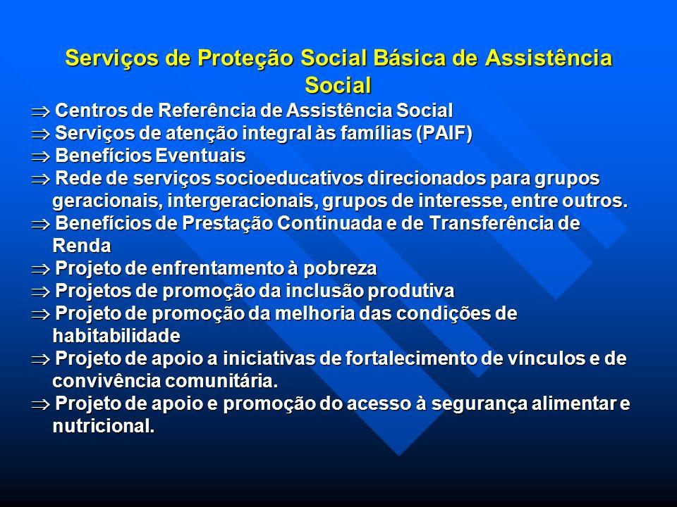 AS PROTEÇÕES DA ASSISTÊNCIA SOCIAL A proteção social da assistência social estrutura sua operação sob três situações: A proteção social da assistência