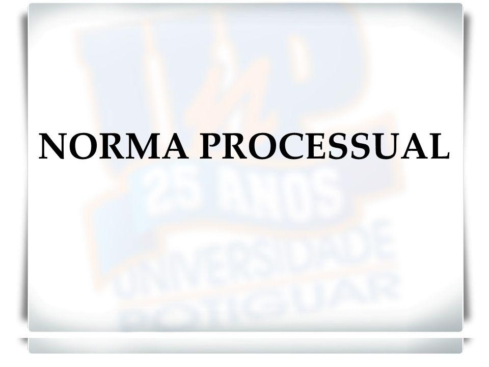 NORMA MATERIAL E NORMA INSTRUMENTAL NORMAS JURÍDICAS MATERIAIS Normas Substanciais NORMAS JURÍDICAS INSTRUMENTIAS Normas Processuais Distinção: Quanto ao objeto imediato.