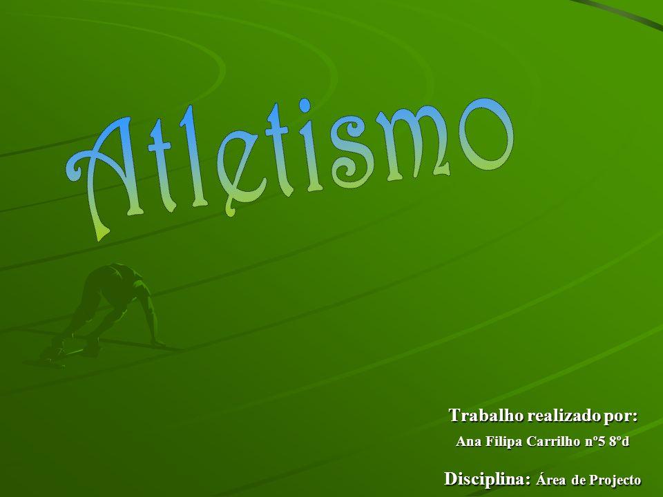 Trabalho realizado por: Ana Filipa Carrilho nº5 8ºd Disciplina: Área de Projecto