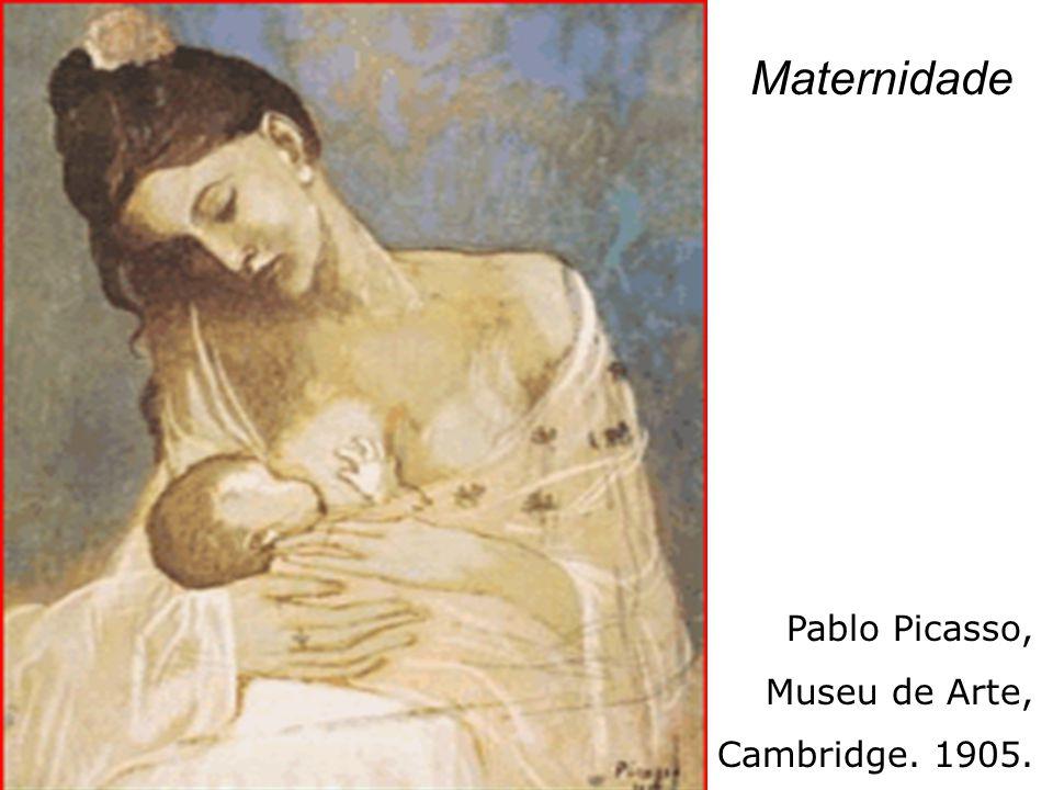 Pablo Picasso, Museu de Arte, Cambridge. 1905. Maternidade