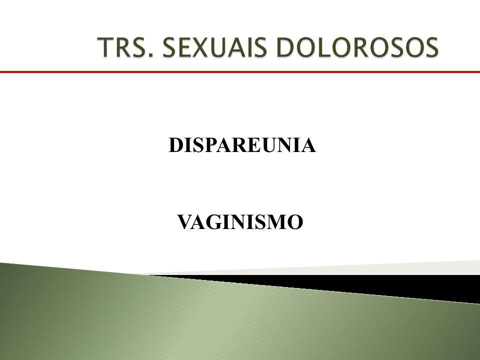 DISPAREUNIA VAGINISMO