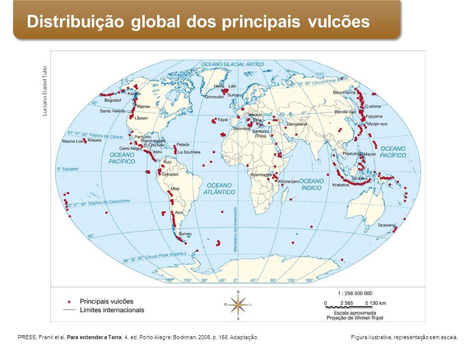 PRESS, Frank et al. Para entender a Terra. 4. ed. Porto Alegre: Bookman, 2006. p. 158. Adaptação. Figura ilustrativa, representação sem escala. Lucian