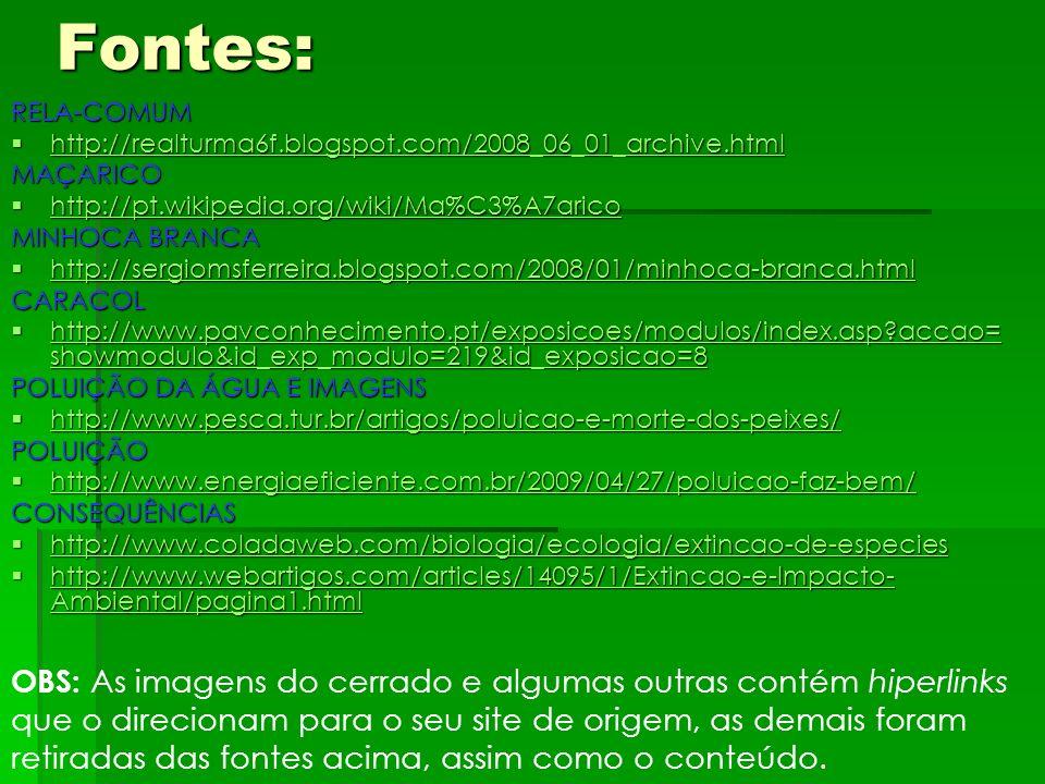 Fontes:RELA-COMUM http://realturma6f.blogspot.com/2008_06_01_archive.html http://realturma6f.blogspot.com/2008_06_01_archive.html http://realturma6f.b