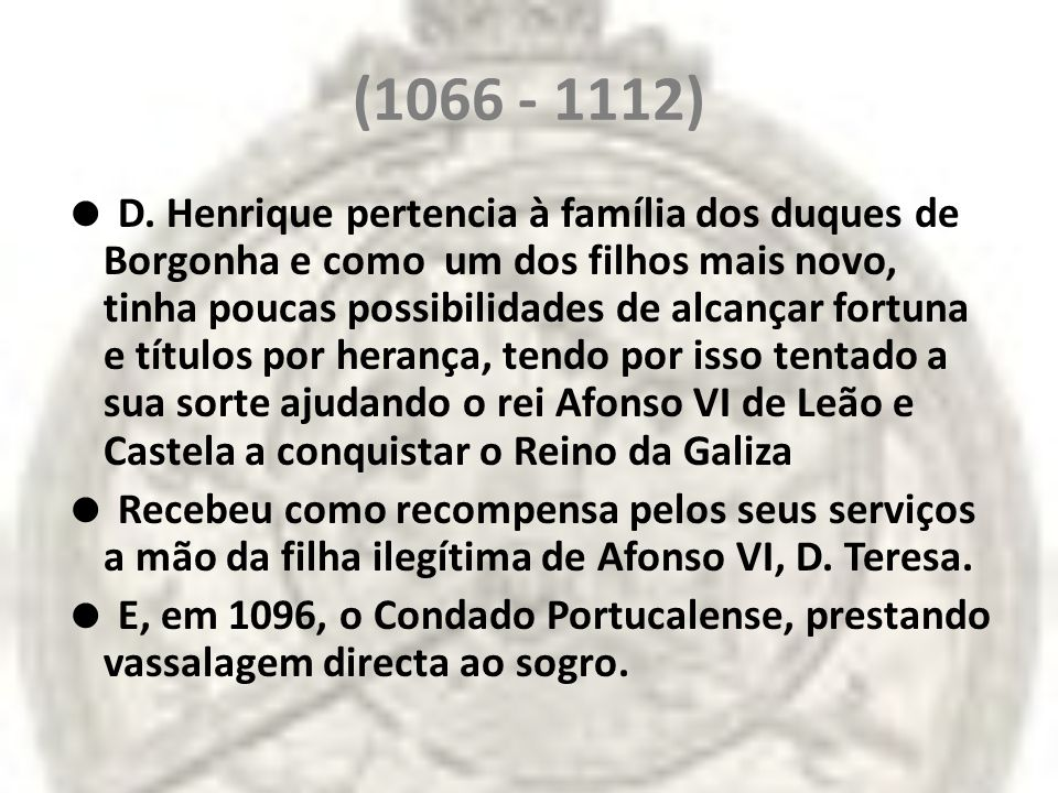 Apesar dessa relação de vassalagem para com o rei de Leão e Castela, D.
