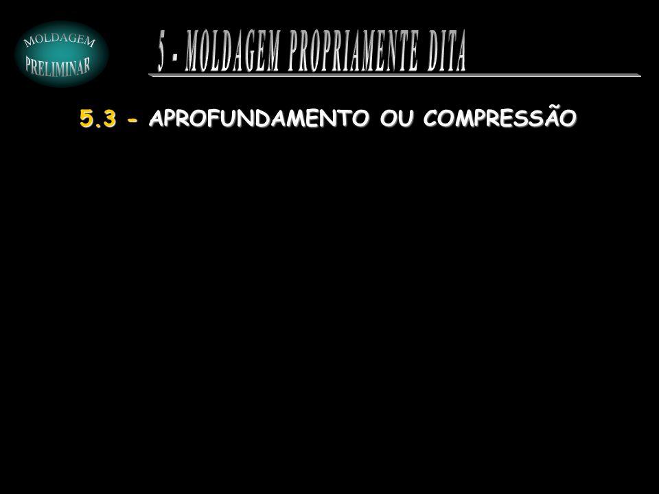 5.3 - APROFUNDAMENTO OU COMPRESSÃO