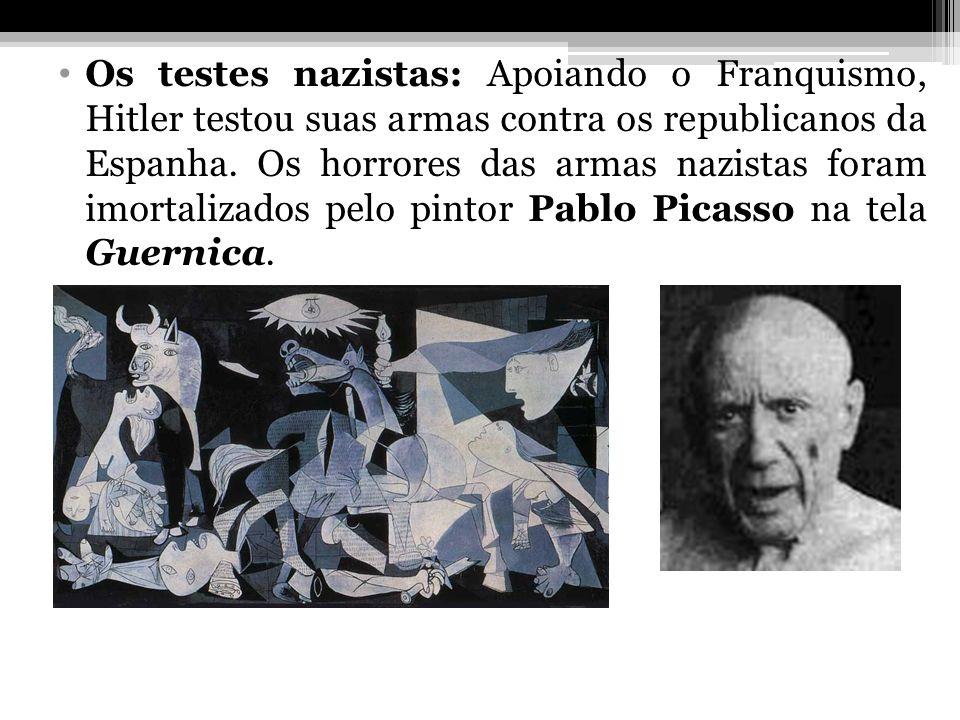 Os testes nazistas: Apoiando o Franquismo, Hitler testou suas armas contra os republicanos da Espanha. Os horrores das armas nazistas foram imortaliza