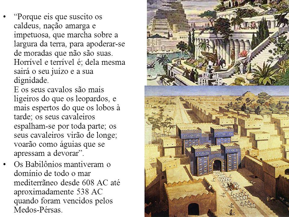O Primeiro Império O primeiro Reino, Babilônia é simbolizado por um Leão com asas.