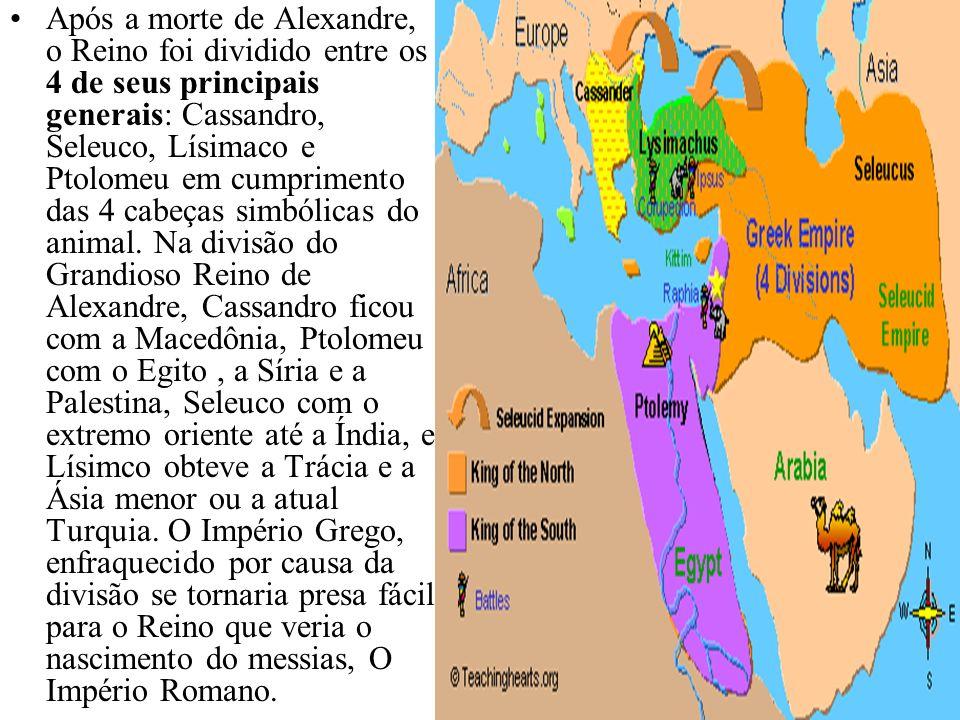 Daniel 8: Grécia vence a Média Essa sucessão de reinos também foi mostrada a Daniel no capítulo 8 de seu livro na qual um carneiro com 2 pontas representa a Média e a Pérsia e um Bode representa a Grécia.
