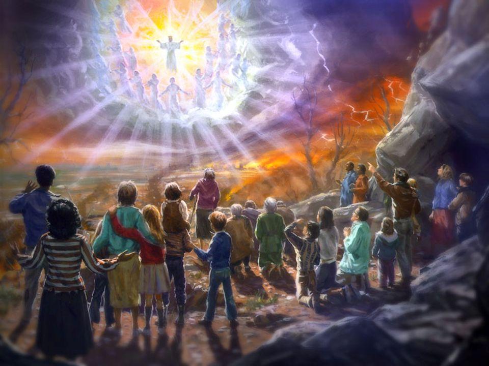 A Mensagem do Terceiro Anjo As 2 mensagens anteriores identificavam o evangelho eterno, o Deus criador e enfocava que o povo de Deus deve se separar do mundo e as falsas organizações religiosas.