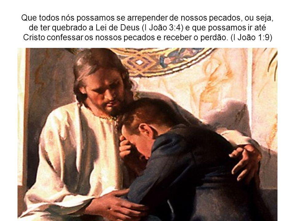 Jesus morreu no nosso lugar para que pudéssemos ter uma segunda chance!