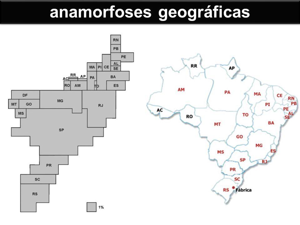 FATEC/2008 - Analise as representações cartográficas.