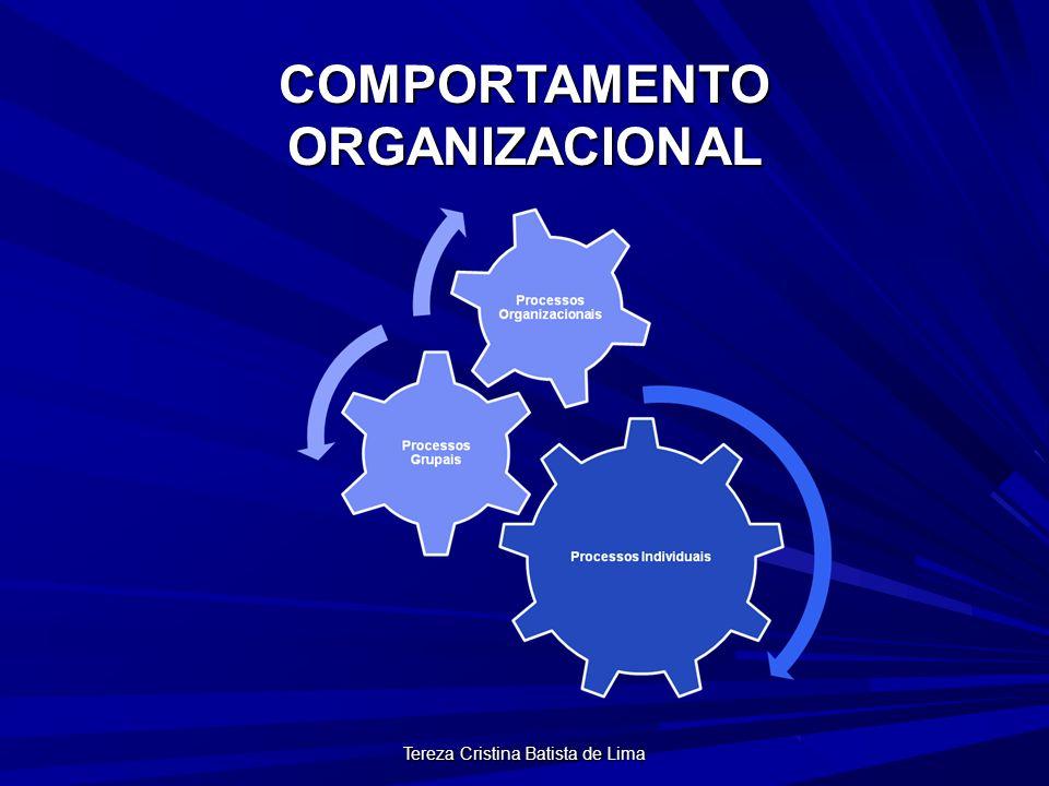 Tereza Cristina Batista de Lima MODELAGEM DO COMPORTAMENTO