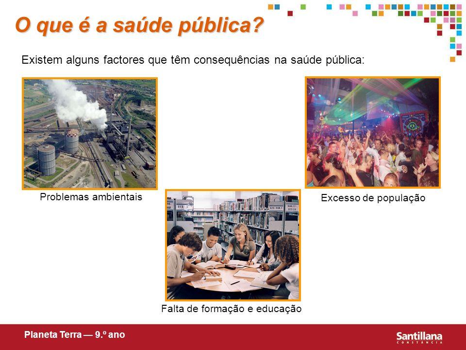 O que é a saúde pública.