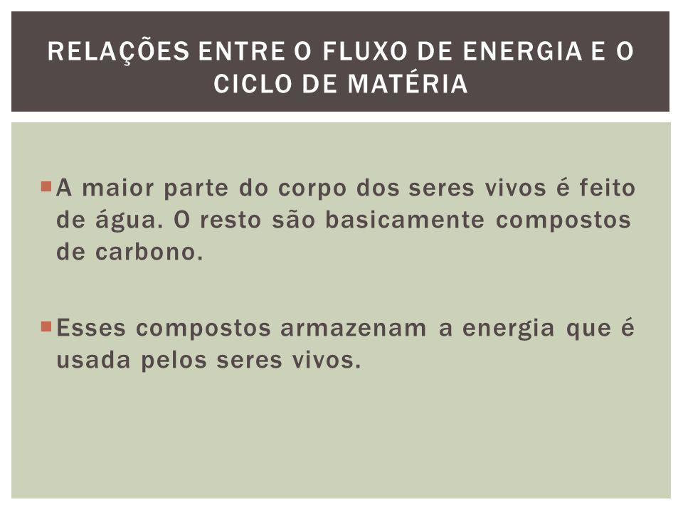 O CO 2 é a forma como o carbono entra no ciclo biológico, através da fotossíntese sendo convertido em açúcar, proteína ou gordura.