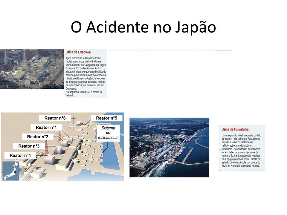 O Acidente no Japão