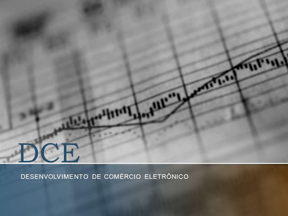 DCE DESENVOLVIMENTO DE COMÉRCIO ELETRÔNICO