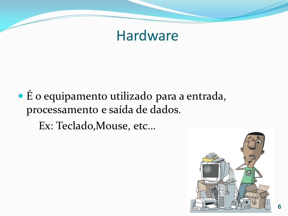 Consiste nos programas de computador que governam a operação do computador.