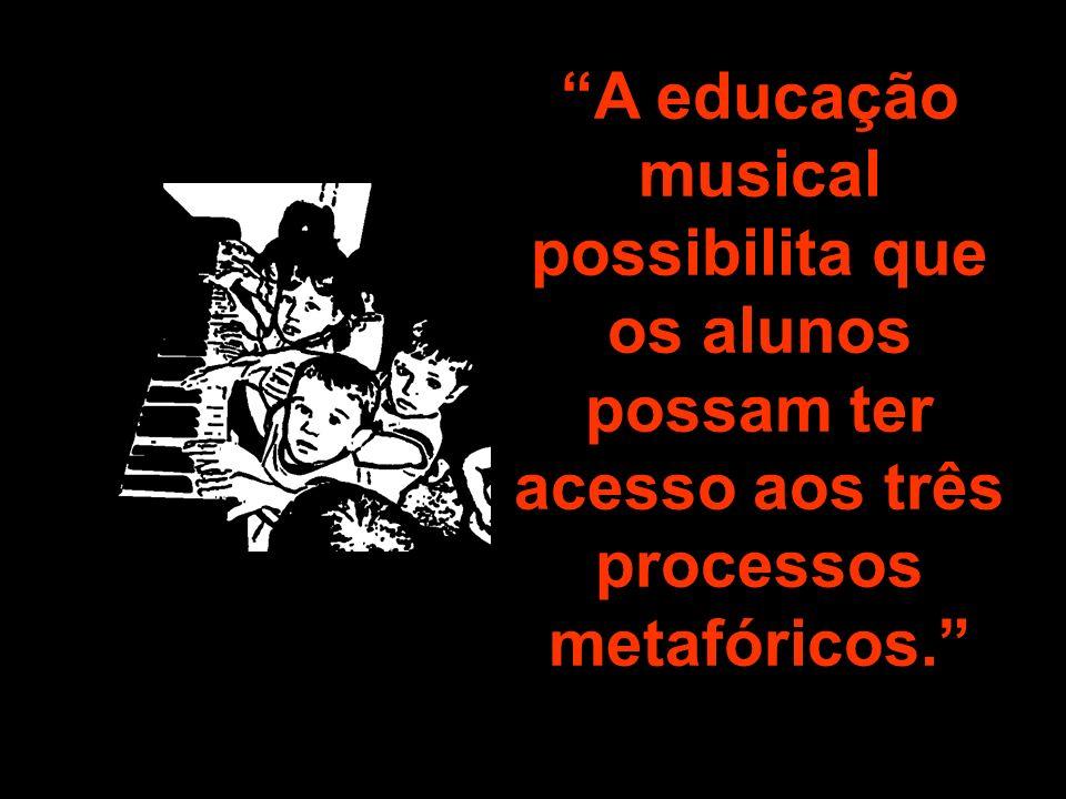 Tomados conjuntamente, os três princípios podem ajudar a manter o ensino musical em um bom caminho, a mante – lo musical.