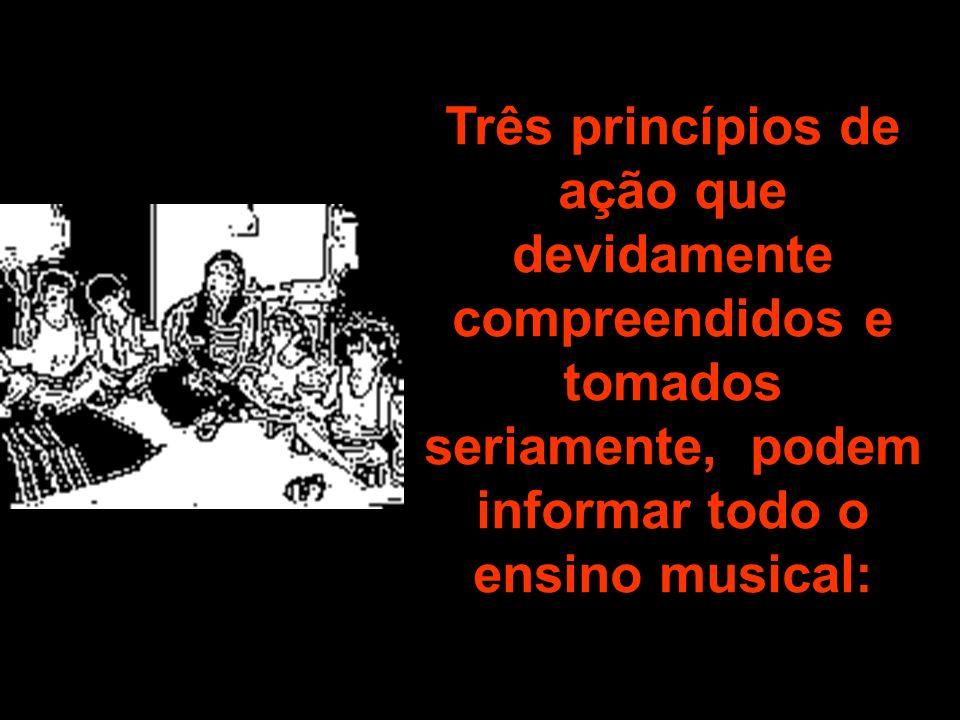 Considerar a música como discurso, considerar o discurso musical dos alunos e enfatizar a fluência talvez seja mais eficaz em um amplo conjunto de situações de ensino do que o detalhamento da documentação curricular.