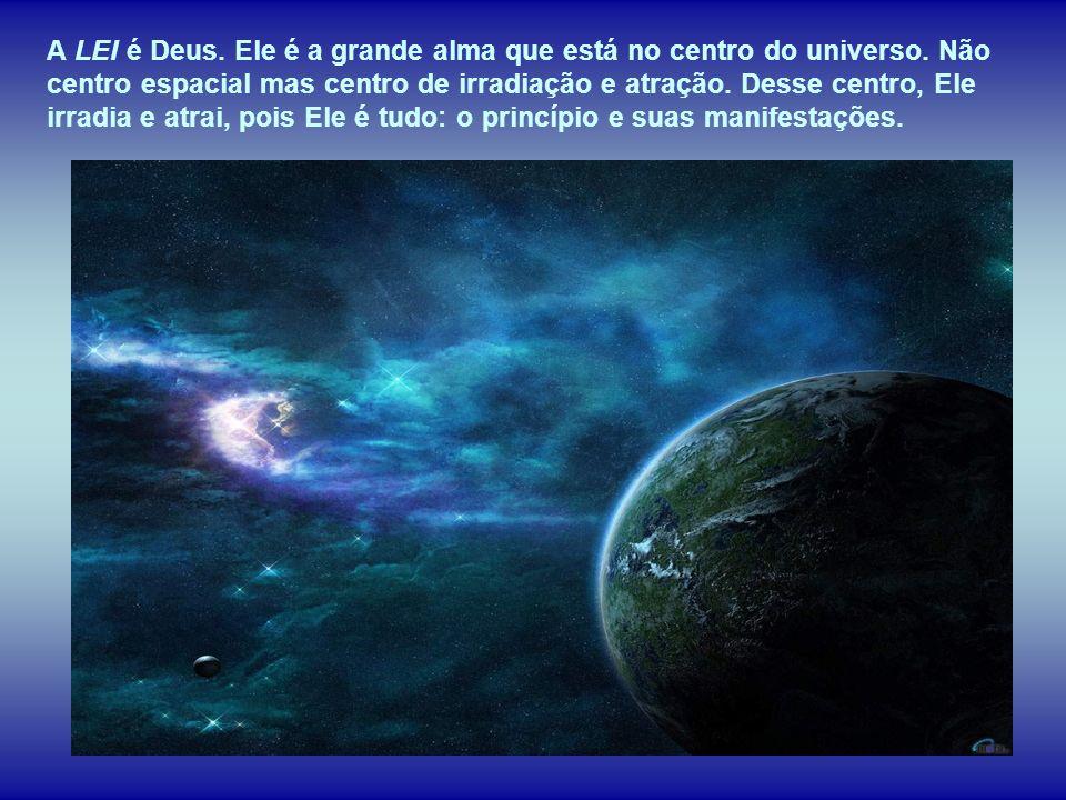 A Lei de Deus rege todos os fenômenos, não há ciência, religião e filosofia que lhe possa alterar o funcionamento