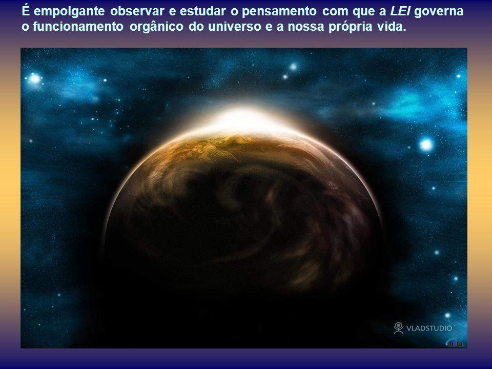 A LEI de Deus é a lei universal da vida, como universais são as Leis do mundo físico e dinâmico que dela fazem parte.