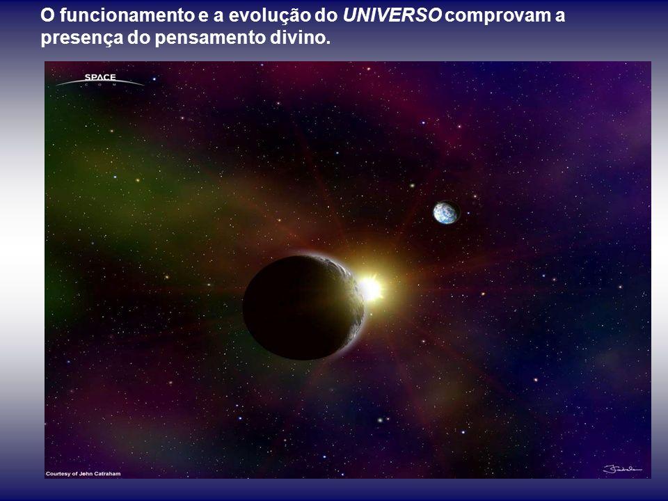 O UNIVERSO, desde o plano físico ao espiritual, é um sistema orgânico, dirigido por um princípio de ordem que sempre melhor realizamos, quanto mais ev