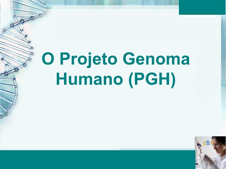 Aula 6 – Momento 2 O Projeto Genoma Humano (PGH)