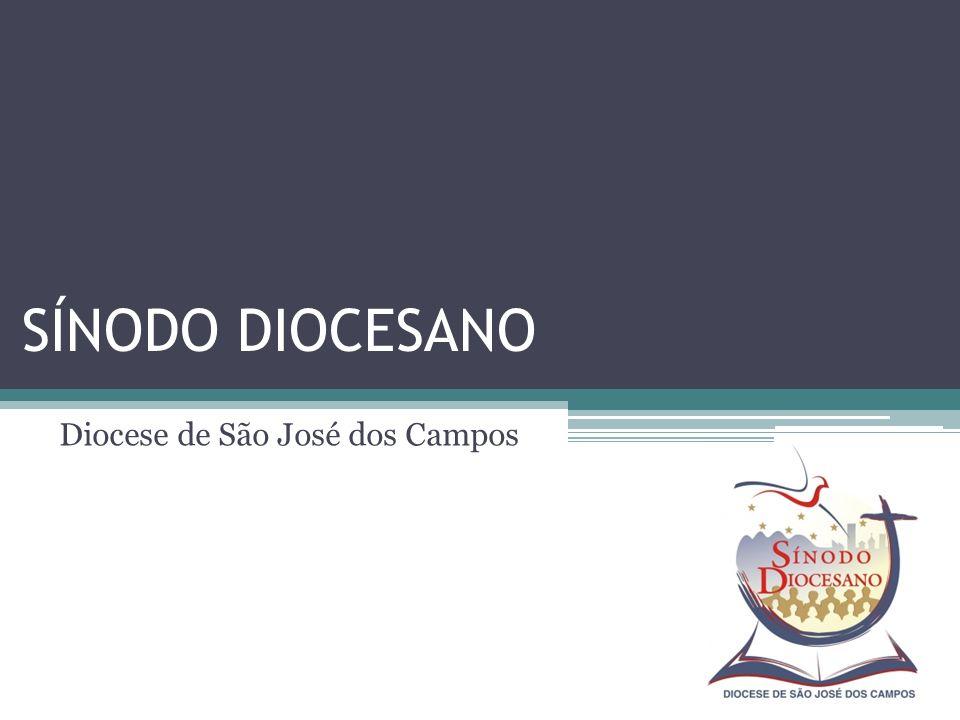 SÍNODO DIOCESANO Diocese de São José dos Campos