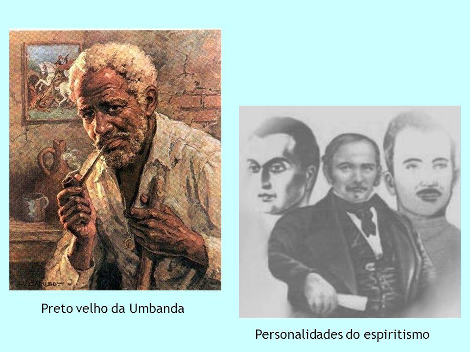 Personalidades do espiritismo Preto velho da Umbanda