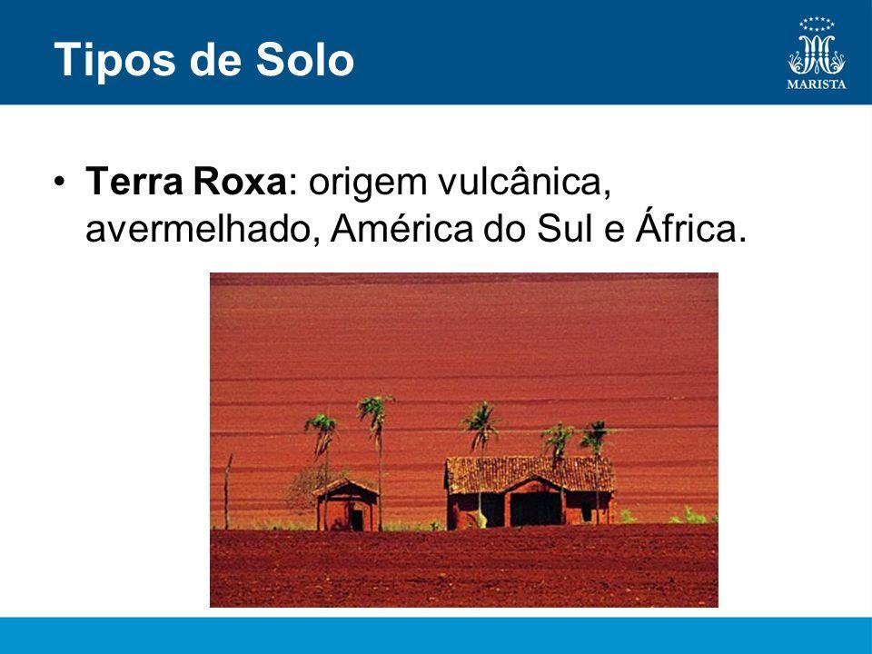 Massapê: argiloso, nordeste brasileiro.