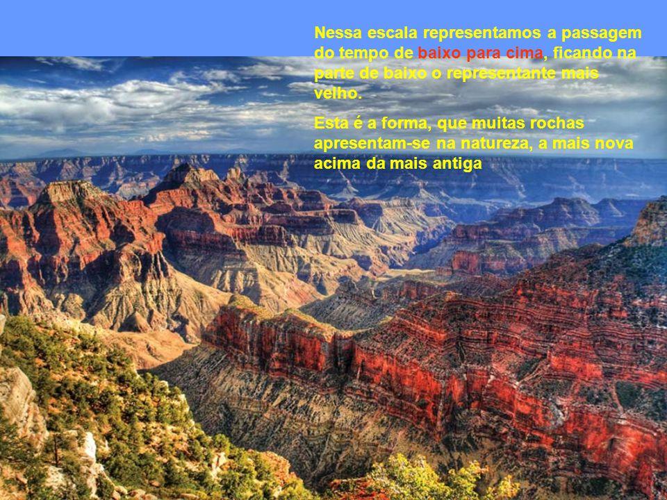 A Tabela do Tempo Geológico
