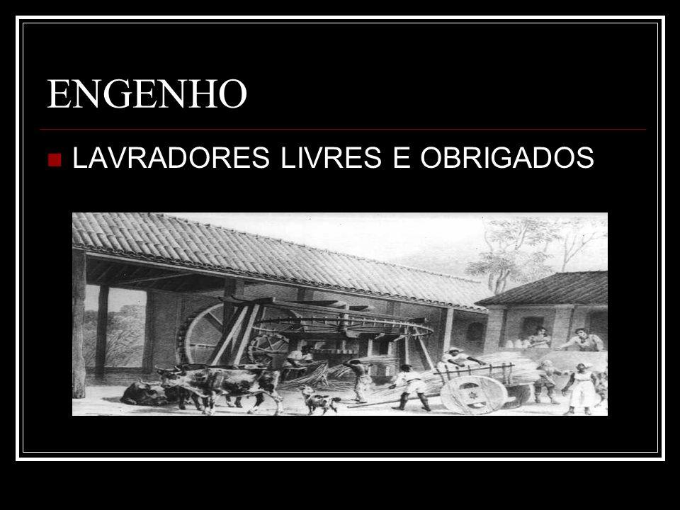 ENGENHO LAVRADORES LIVRES E OBRIGADOS