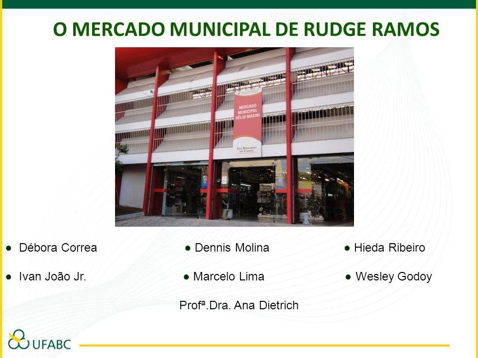 Introdução O tema escolhido pelo grupo para ser abordado na pesquisa de campo foi o Mercado Municipal de Rudge Ramos.