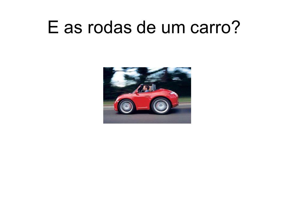 E as rodas de um carro?