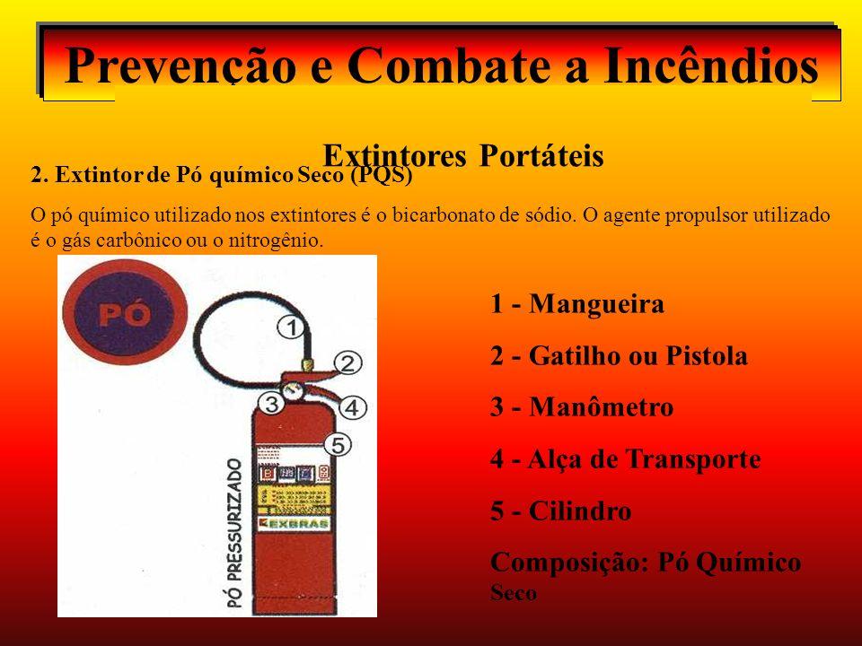 Prevenção e Combate a Incêndios Extintores Portáteis 2.